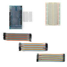 Proto Shield V3 Expansion Board Kit+400 Point Breadboard+120Pcs Jumper Wire UE