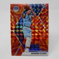 2019-20 Mosaic Brandon Clarke Reactive Orange Prizm Rookie RC Grizzlies