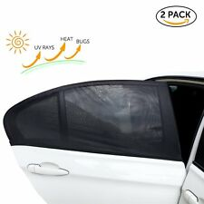 Car Rear Window UV Sun Shade Blind Kids Baby Sunshade For FORD FOCUS FIESTA