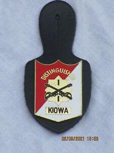 US Brustanhänger: 1st Squadron,1st Cavalry Regiment,Blackhawks KIOWA OH-58