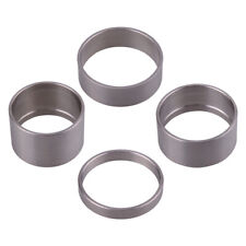 4set Titanium Alloy 5/10/15/20mm Spacer Bicycle Bike Headset Spacer Front Stem o
