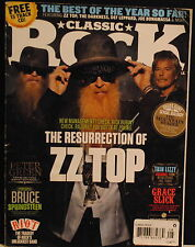 ZZ Top, Peter Green, Thin Lizzy, Grace Slick Aug 2012 Classic Rock UK magazine