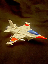 Gobots Heat Seeker Mr-49 F-16 Fighter Jet Transformer Tonka Bandai Japan 1985