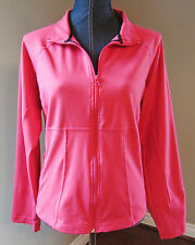 Style & Co. Women's Cool Melon Long Sleeves Athletic Jacket Top XL