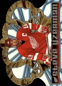 1998-99 Crown Royale Red Wings Hockey Card #49 Steve Yzerman