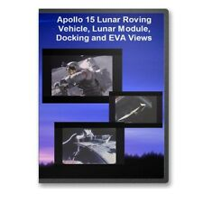 Apollo 15 Lunar Roving Vehicle LRV, Lunar Module, Docking, EVA Views DVD - C737