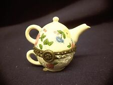 Boyds treasure box GRANNY MAE'S TEAPOT with cammy McNibble