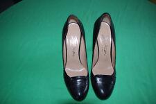 EVITA Leder Damen Schuhe, High Heels, schwarz, Elegant, Gr. D 38
