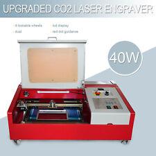 40w 12x 8 Co2 Laser Engraving Cutting Metal Machine Engraver Cutter Wood Diy