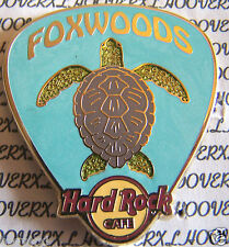 2012 HARD ROCK CAFE FOXWOODS SEA TURTLE PICK LE PIN