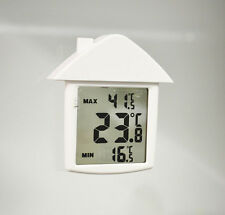 Digital Max / Min ( Maximum / Minimum ) Window Thermometer °C / °F Switchable