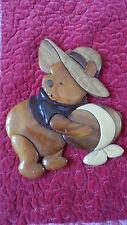 Winnie l'ourson Disney en bois - Wooden Winnie the pooh - Décoration murale