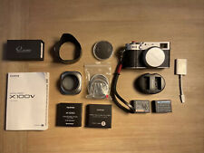 Fujifilm X100V 26.1MP Compact Camera - Silver Bundle!  Extras!  See Photos