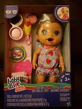 Baby Alive spuntino 'Lily (BRUNETTA) baby doll-nuovo in magazzino