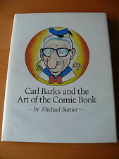 Carl Barks and the Art of the Comic Book - Hardcover - Mint.   Very Rare.