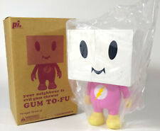 """7.5"""" GUM TO-FU TOFU 2008 DEVILROBOTS NEW IN BOX limited edition 450 bearbrick"""