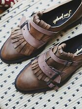 Free People Out West Kilty Brogue - Size 38 Euro