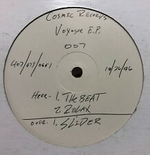 "Voyager The Beat Relax Cosmic 007 Breaks DJ 12"" Vinyl TEST PRESSING Icey"
