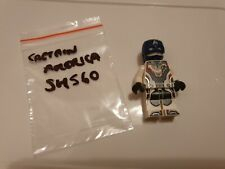 LEGO Super Heroes Captain America white jumpsuit 76123 Minifig SH560 Marvel