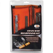 "CHAINSAW SHARPENING KIT chain saw sharpener 5/32"" 3/16"" 7/32"" files guide bar"