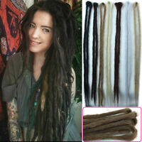 "20"" Synthetic Dreadlocks Long Double Ended Dreads Crochet Braids Hair Extensions"
