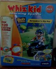 Whiz Kid Learning System - Scrambler's Big Day - Bob The Builder - VTECH - NEW