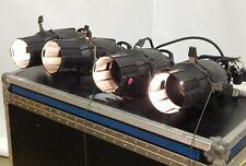 Lot of 4 Etc Source Four Ellipsoidal Series Spotlights - 750 W, 77 V, Black