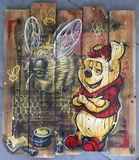 SKAYZOO (FR) graffiti signé sur bois 54x50cm -cope2/seen/taki/quik/RD357/duster