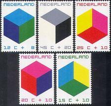 Paesi Bassi 1970 figlio Benessere/Salute/cubo design/Animazione 5 V Set (n32976)