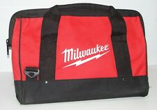"""Milwaukee Heavy Duty Canvas Contractor Tool Bag 16"""" Bag Only."""