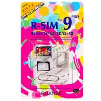 GENUINE R-SIM 9 PRO Unlock Card for iPhone 4S/5 SE iOS 6-8.x AT&T - RSIM