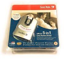 New SanDisk ImageMate USB 2.0 5-in-1 Card Reader/Writer SDDR-99-A15