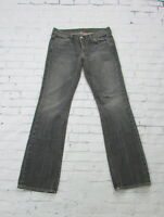 Women's Seven 7 For All Mankind Bootcut Jeans Scribble Pocket Size 29 Black Wash
