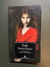 THERESE RAQUIN - ZOLA'  - OSCAR MONDADORI