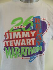 Nike Jimmy Stewart 1994 Marathon Relay Vintage XL T Shirt LA California USA