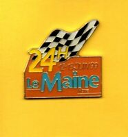 Pin's pins Lapel pin 24H  24 HEURES DU MANS LE MAINE LIBRE 1999 Checker Flag