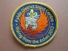 Fylde District Scout Centre Cloth Patch Badge Boy Scouts Scouting L3K B