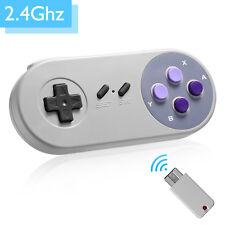 USB Wireless Controller Gamepad For Super Nintendo NES SNES Classic Mini Console