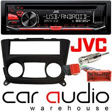 Nissan Almera 00-06 Jvc Auto Stereo Cd Mp3 Usb Aux Reproductor & control del calentador de Facia