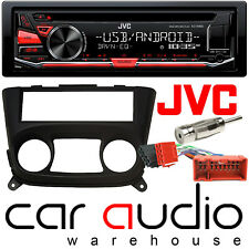 Nissan Almera 00-06 JVC Car Stereo CD MP3 USB Aux Player & Heater Control Facia