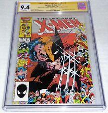 Uncanny X-Men #211 CGC SS 3x Signature Autograph STAN LEE 1st Full Marauders