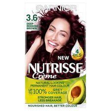 GARNIER NUTRISSE 3.6 CRIMSON PROMISE DEEP REDDISH BROWN HAIR COLOUR