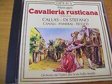 CAVALLERIA RUSTICANA SELEZIONE CALLAS - DI STEFANO  CD