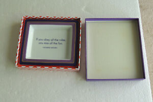 TWO'S COMPANY WISE SAYING DESK TRAY INSPIRATIONAL QUOTE OFFICE DECOR