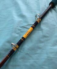 TRULINE 6Ft 10-80Lb W. Walder  Custom Wrap Conventional Fishing Rod U.S.A