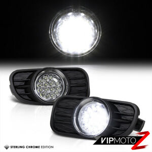 For 99-03 JEEP GRAND CHEROKEE [BRIGHTEST LED] DRIVING FOG LIGHT BUMPER LAMP+BULB