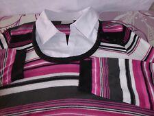CANDA Damenshirt T-Shirt Oberteil Sommer Freizeit Größe 38 Mehrfarbig Langarm B
