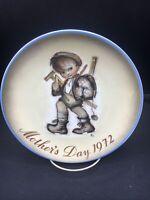 Mother's Day 1972 Sister Berta Hummel Schmid Collector Plate ~