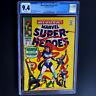 MARVEL SUPER-HEROES #15 💥 CGC 9.4 WHITE PGs 💥 ONLY 10 HIGHER! MEDUSA INHUMANS