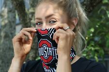 Ohio State Buckeyes OFFFICIALLY LICENSED Block O Neck Gaiter Face Mask -Reusable